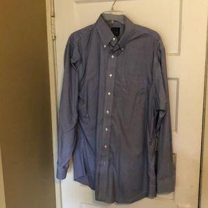 Men's Jos. A. Bank casual button down shirt.